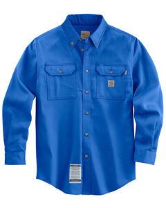 Carhartt Flame Resistant Work-Dry® Twill Long Sleeve Shirt - Big & Tall, , hi-res