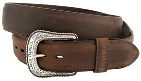 Jack Daniel's Crazy Horse Leather Belt, Crazyhorse, hi-res