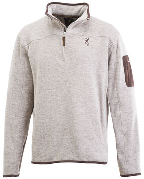 Browning Men's Oatmeal Laredo Sweater, Natural, hi-res