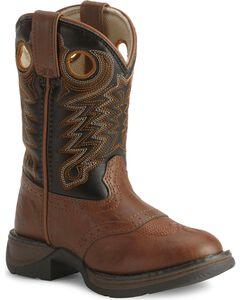 Durango Boys' Lil Rebel Cowboy Boots - Round Toe, , hi-res