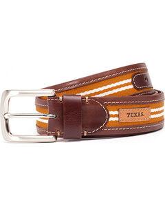 Jack Mason Men's University of Texas Tailgate Belt , , hi-res