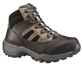Wolverine Kingmont Slip-Resistant Work Boots - Composite Toe, Dark Brown, hi-res