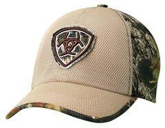 Ariat Camo Logo Patch Cap, , hi-res