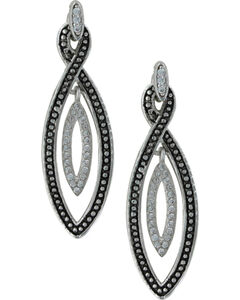 Montana Silversmiths Women's Flickers of Light Earrings , Silver, hi-res