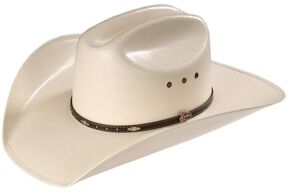 Justin 20X Black Hills Straw Cowboy Hat, Natural, hi-res
