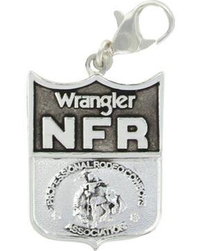 Montana Silversmiths 2016 WNFR Shield Charm , Silver, hi-res