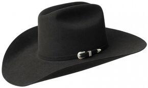 Bailey Men's Courtright 7X Fur Felt Cowboy Hat, Black, hi-res