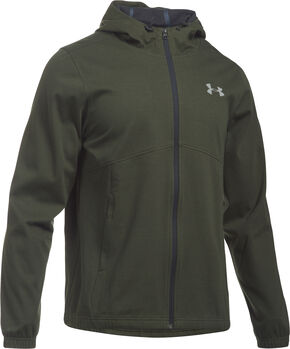 Under Armour Men's Green Storm Spring Swacket Hoodie, Green, hi-res