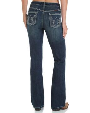 Wrangler Women's Shiloh Ultimate Riding Jeans - Boot Cut , Blue, hi-res