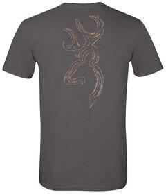 Browning Men's Twig Buckmark Charcoal Short Sleeve Tee, , hi-res