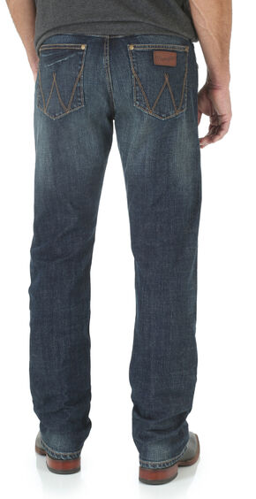 Wrangler Retro Bozeman Men's Slim Fit Jeans - Straight Leg , Denim, hi-res