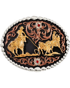 Montana Silversmiths Roper Buckle, , hi-res