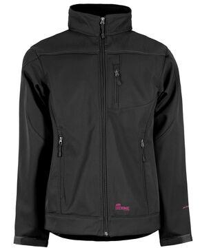 Berne Women's Eiger Softshell Jacket - 3X & 4X, Black, hi-res
