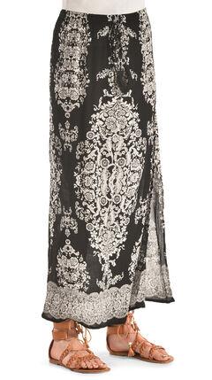 Bila Women's Printed Long Skirt , , hi-res