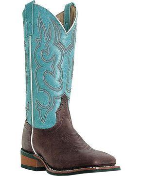 Laredo Mesquite Cowgirl Boots - Square Toe, Gaucho, hi-res