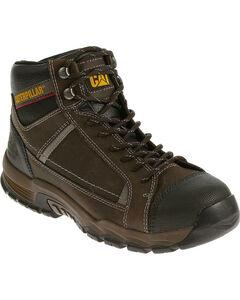 Caterpillar Men's Black Regulator Work Boots, , hi-res