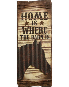 BB Ranch Home is Where the Barn Is Wall Plaque, , hi-res