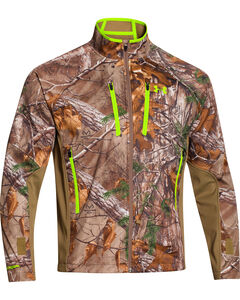 Under Armour Men's Realtree Scent Control Softershell Jacket, , hi-res
