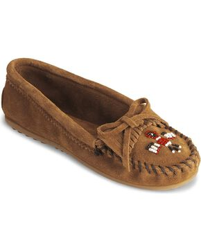 Minnetonka Thunderbird II Moccasin, Brown, hi-res