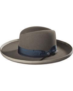 Stetson Men's Grey West Bound B Felt Hat , , hi-res