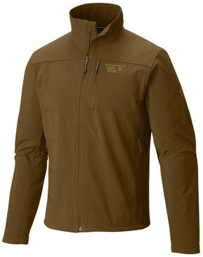 Mountain Hardwear Men's Ruffner Hybrid Jacket, Brown, hi-res