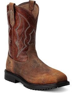 Ariat RigTek Pull-On Work Boots - Composition Toe, , hi-res