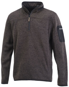 Browning Men's Black Laredo Sweater, Black, hi-res
