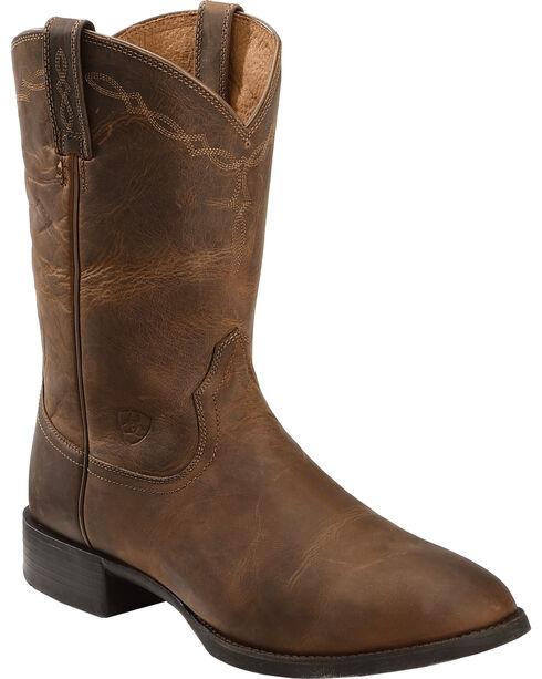 Ariat Heritage Roper Cowboy Boots | Sheplers