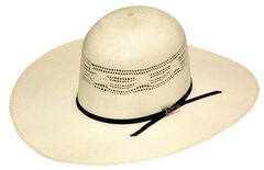 Twister Premium Bangora Open Crown Straw Cowboy Hat, , hi-res