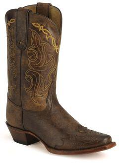 Tony Lama 100% Vaquero Cowgirl Boots, , hi-res