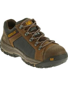 Caterpillar Men's Light Brown Convex Lo Work Shoes - Steel Toe , Light Brown, hi-res