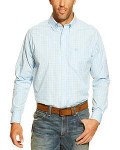Ariat Men's Garnett Plaid Button Long Sleeve Shirt, , hi-res