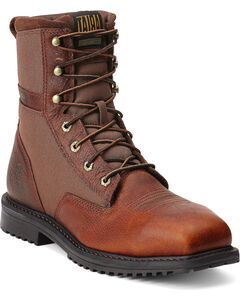"Ariat RigTek 8"" Lace-Up Work Boots - Safety Toe, , hi-res"