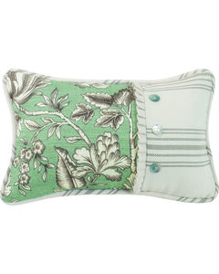 HiEnd Accent Multi Gramercy Pieced Floral Oblong Pillow, , hi-res
