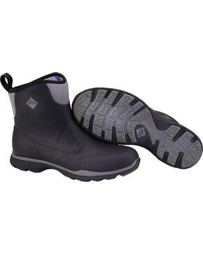 Muck Black Excursion Pro Mid Boots , Black, hi-res