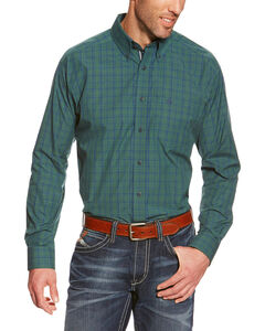 Ariat Princeton Plaid Performance Long Sleeve Shirt - Big & Tall, , hi-res