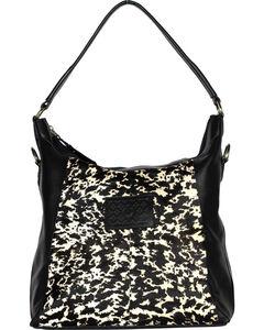 Designer Concealed Carry Black Sonoma Hobo Handbag, , hi-res
