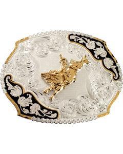 Montana Silversmiths Bucking Bronco Belt Buckle, , hi-res