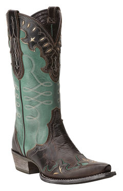 Ariat Zealous Cowgirl Boots - Snip Toe, , hi-res