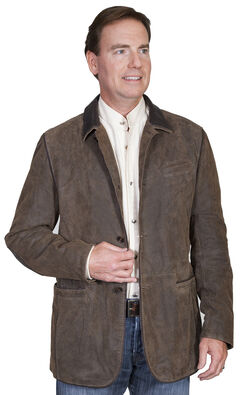 Scully Men's Leather Blazer , , hi-res