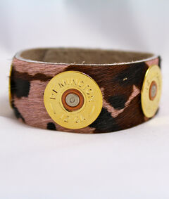 SouthLife Supply Women's Pink Camo Cuff in Traditional Gold, , hi-res