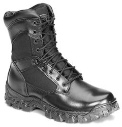 "Rocky 8"" AlphaForce Lace-up Duty Boots, , hi-res"