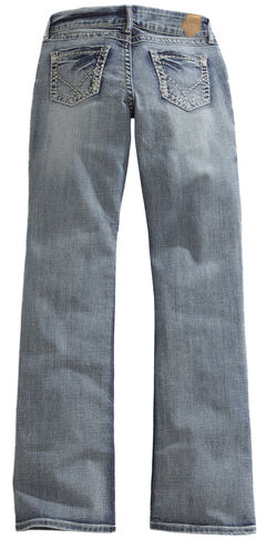 Tin Haul Women's Bootcut Rosie To Go The Go To Zig Zag Jeans, , hi-res