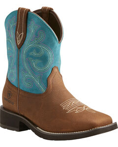 Ariat Women's Brown Shasta H20 Boots - Square Toe , , hi-res