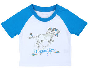 Wrangler Infant Boys' Body T-Shirt, White, hi-res