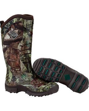 Muck Mossy Oak Infinity Pursuit Stealth Fleece Hunting Boots, Camouflage, hi-res