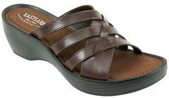 Eastland Women's Brown Poppy Wedge Sandals, , hi-res