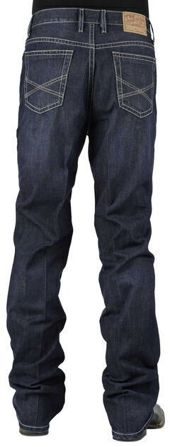 Stetson 1520 Classic Fit With Embroidery Jeans - Boot Cut, , hi-res