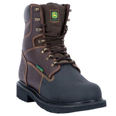 John Deere Men's Internal Met Guard Fire Retardant Work Boots - Steel Toe, , hi-res