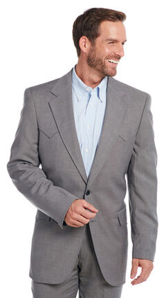 Circle S Men's Steel Grey Lubbock Sport Coat - Big & Tall , , hi-res